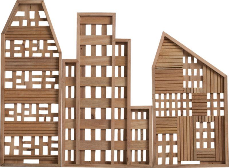 3-piece row house set