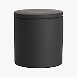 rubber coated black canister