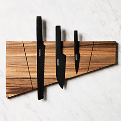 SAIC acacia magnetic knife board