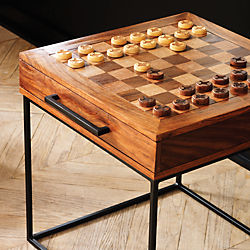 SAIC checkers-chess table