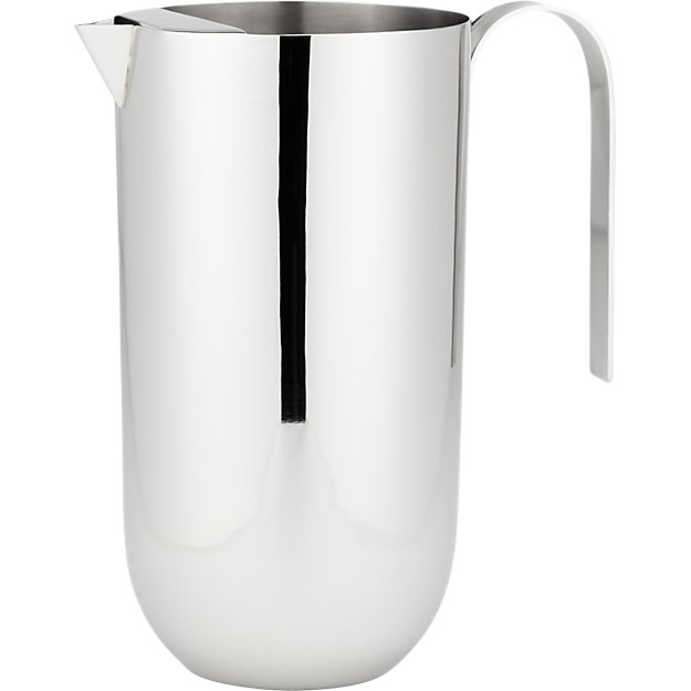 stainless steel mirror pitcher