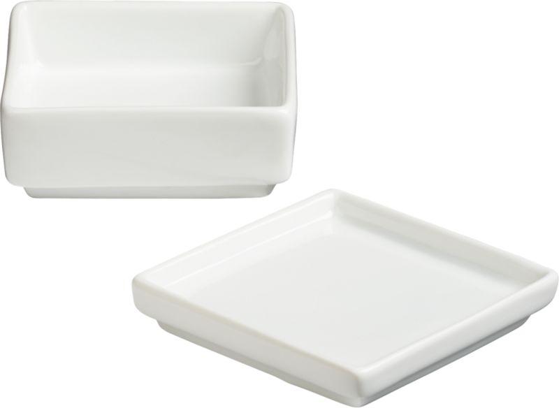 2-piece saucy dip set