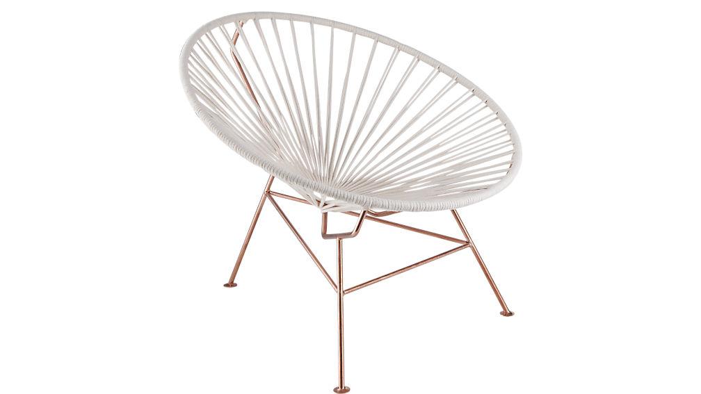 sayulita white chair