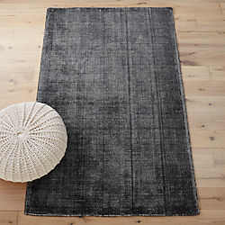 scatter grey rug