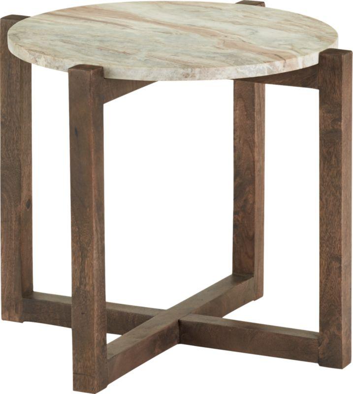 sediment side table