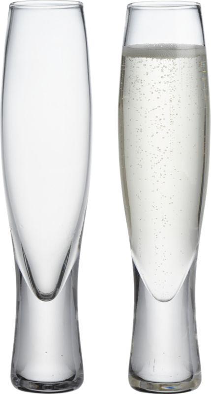 selma champagne flute