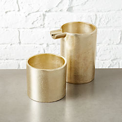 seville gold cream and sugar set