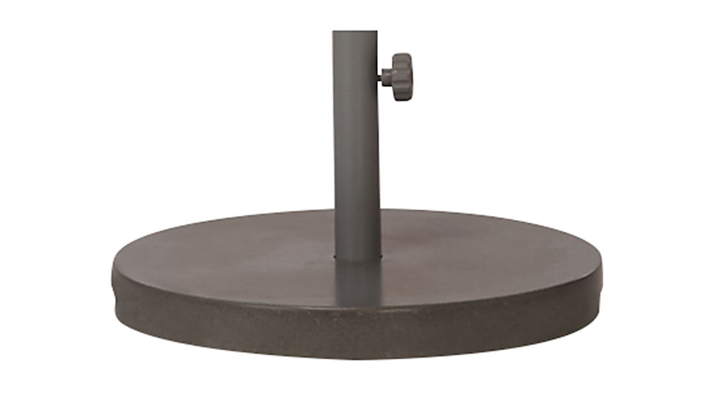 shadow natural umbrella round base