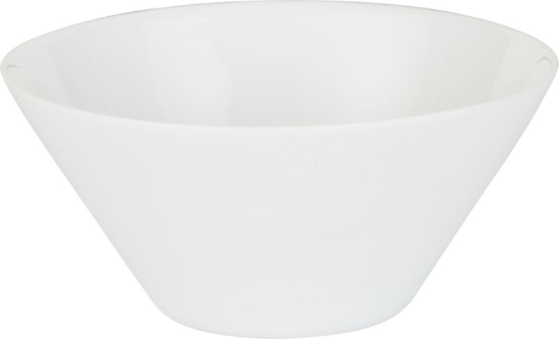white shell bowl