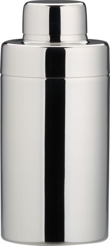 stainless steel shiny mini cocktail shaker