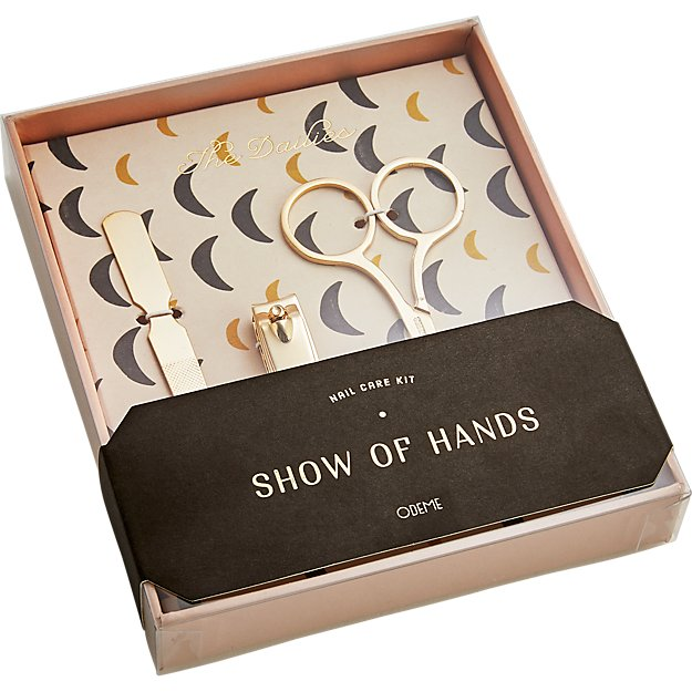 odeme show of hands nail care kit