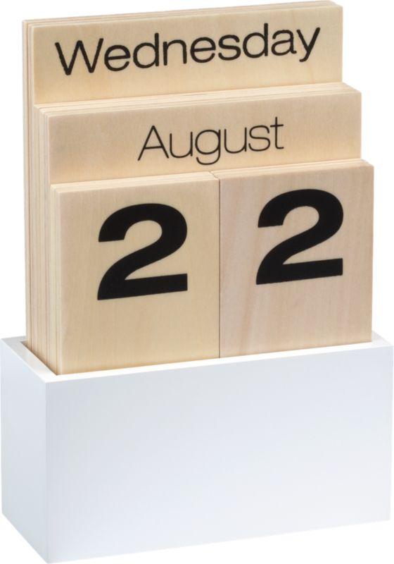 shuffle calendar