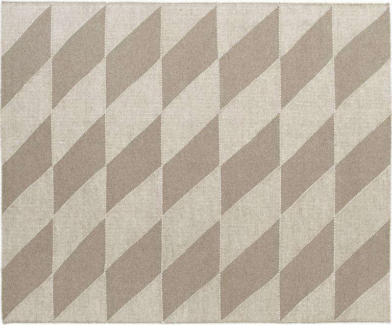 side diamonds rug 8'x10'