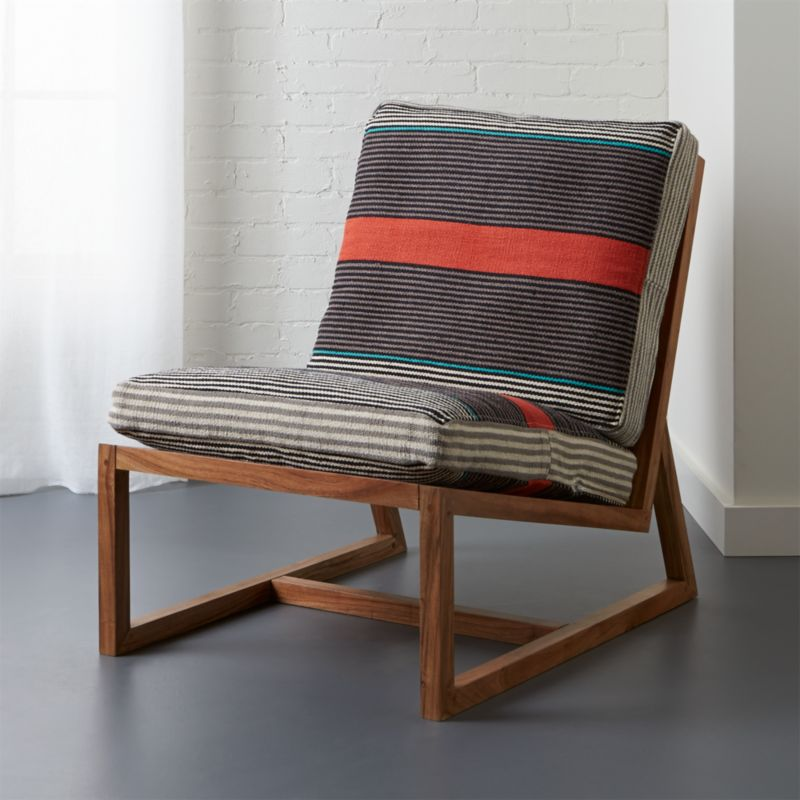 Sidi Lounge Chair With Cushions Shopswell