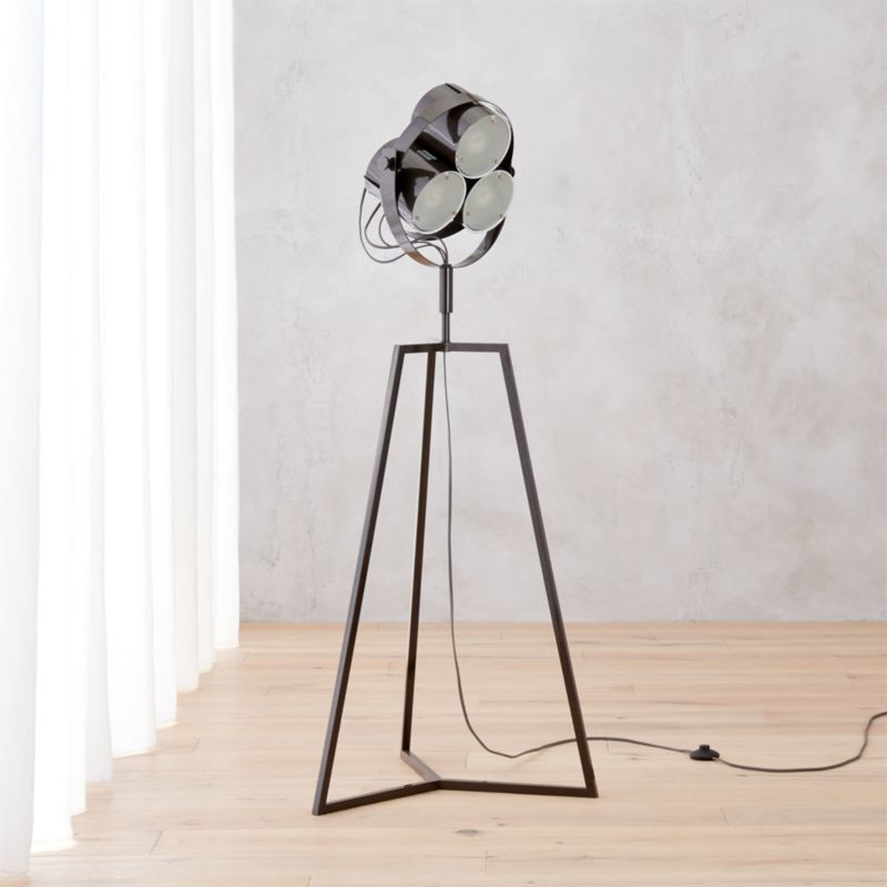 signal floor lamp