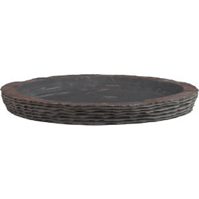 layered slate bowl