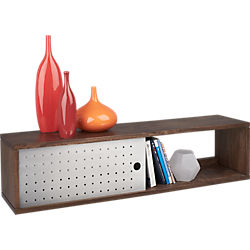 slide wall mounted shelf