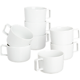 slip mug set of eight