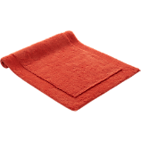 smith orange bath mat