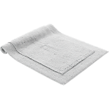 smith silver grey bath mat