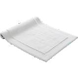smith white bath mat