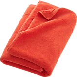 smith orange bath towel