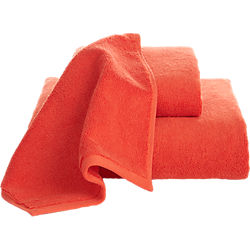 smith orange bath towels