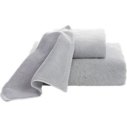 smith silver grey bath towels