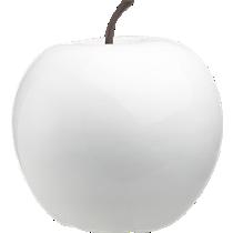 white large snow apple
