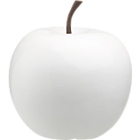 white small snow apple