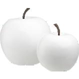 2-piece white snow apple set