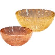soleil wire bowls