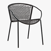 sophia black dining chair
