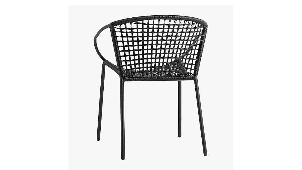 sophia black dining chair