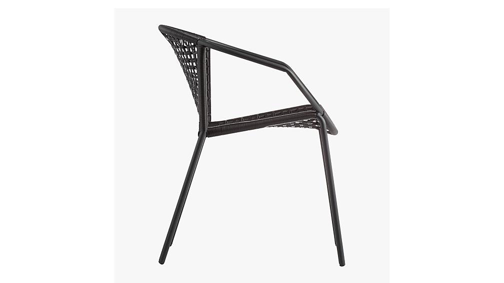 Sophia Black Dining Chair Cb2