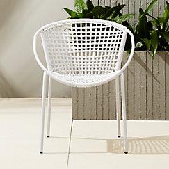 Sophia Silver Dining Chair Cb2
