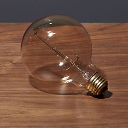 spiral filament 40W large light bulb