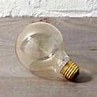 spiral filament light bulb. 40W