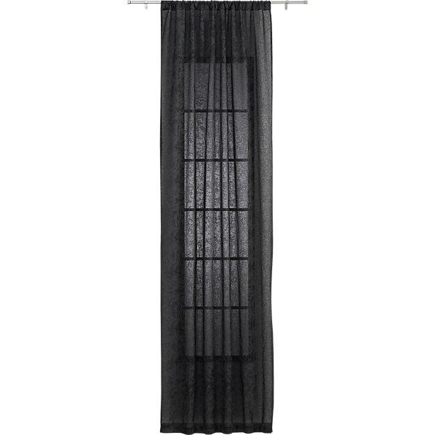 "splatter sheer curtain panel 48""x84"""
