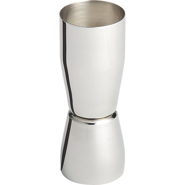 stainless steel jigger