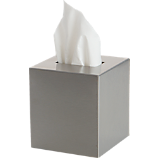 stainless steel tissue box cover