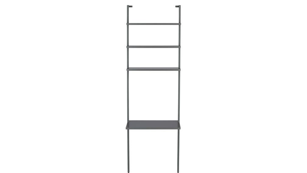 "stairway grey 96"" desk"