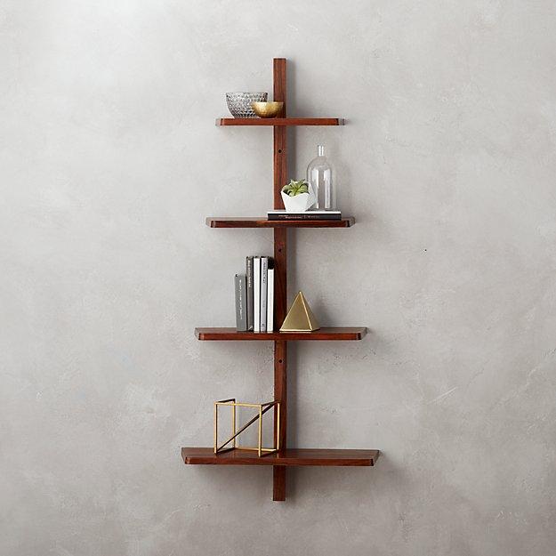 step wall shelf