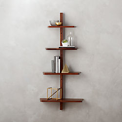 step wall shelf