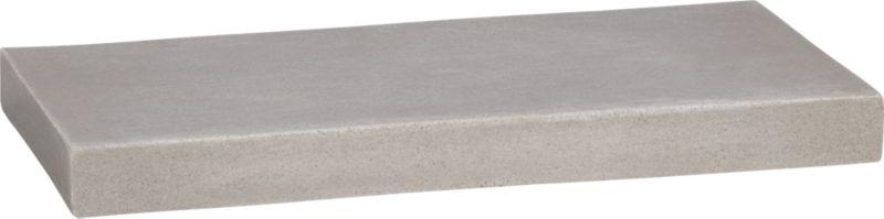 stone resin wall shelf