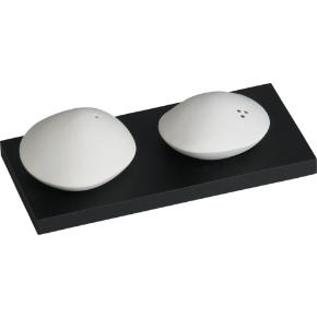 stone salt and pepper shaker set