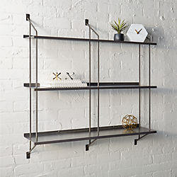 stretch modular wall shelf