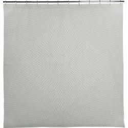 string art shower curtain