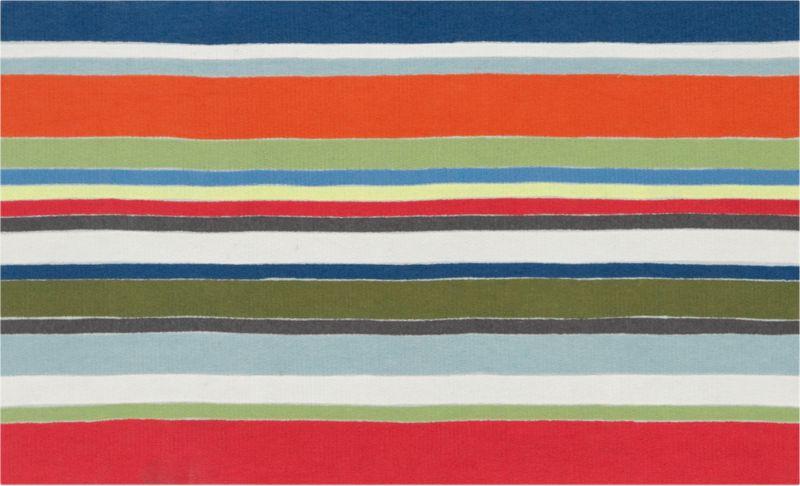 stripe multi rug