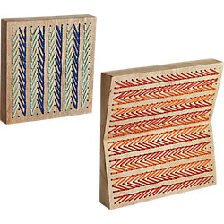 2-piece strung together string art set